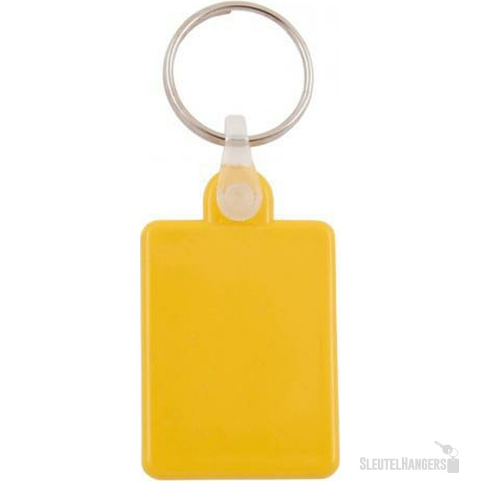 Sleutelhanger Villablanca geel