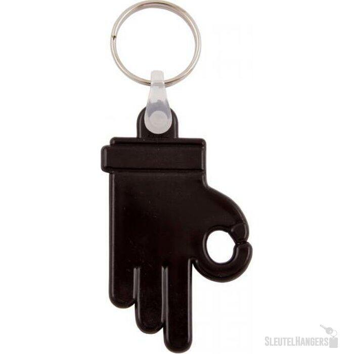 Sleutelhanger Zamora zwart