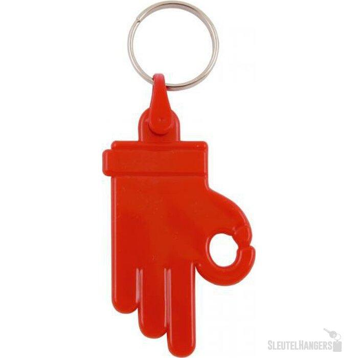 Sleutelhanger Zamora rood