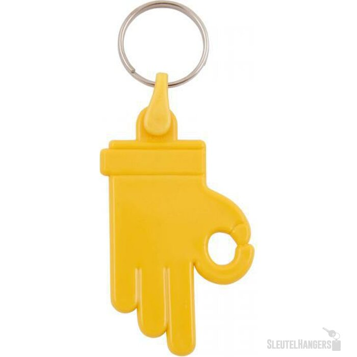 Sleutelhanger Zamora geel