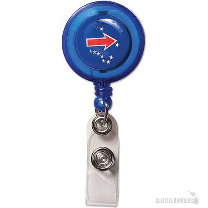 Badgehouder Ahigal blauw