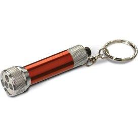 Sleutelhanger met zaklampje Algeciras rood