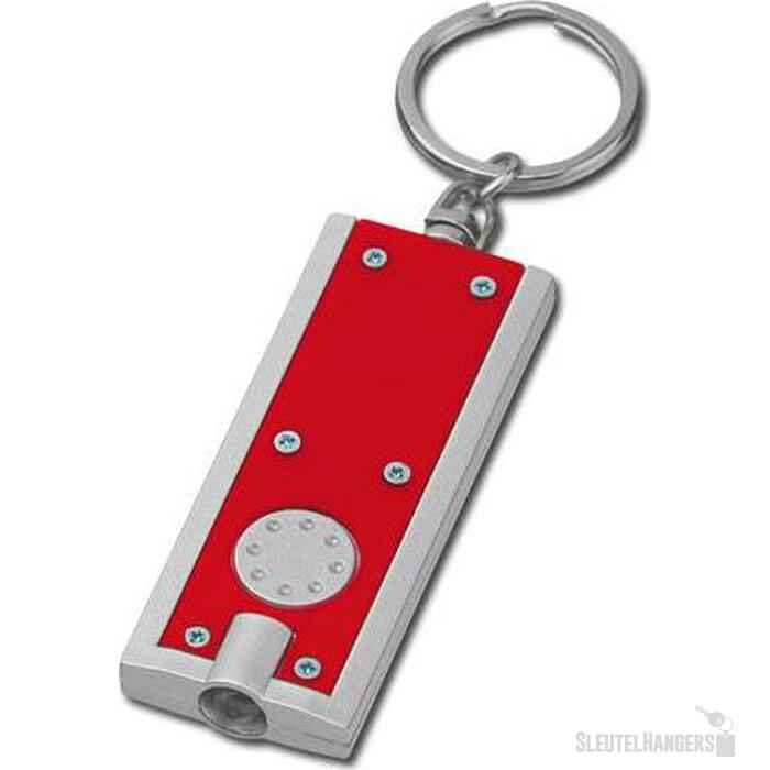 Sleutelhanger Hudson rood