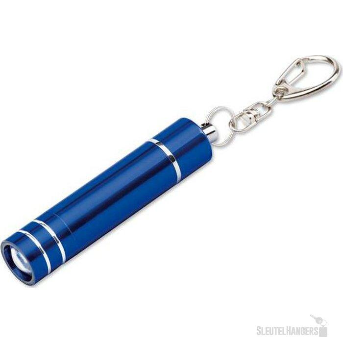 Sleutelhanger met lampje Glower blauw