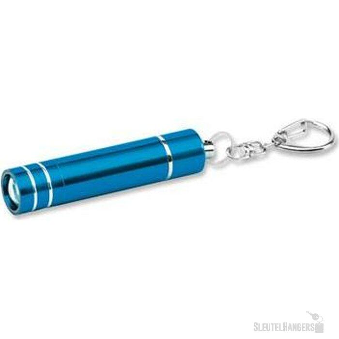 Sleutelhanger met lampje Glower turquoise