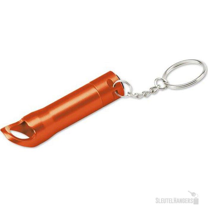Sleutelhanger met lampje Torchen oranje