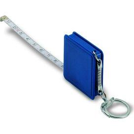 Sleutelhanger/rolbandmaat 1 m Watford Blauw