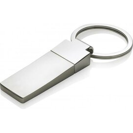 Sleutelhanger Curv zilver