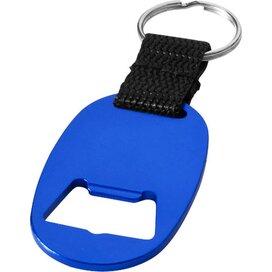 Sleutelhanger met flesopener koningsblauw