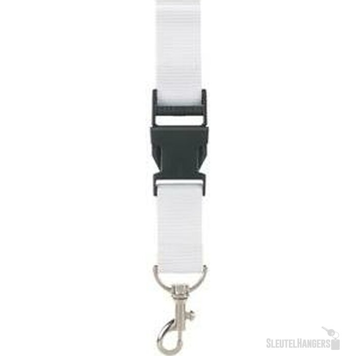100% RPET Lanyard Walsall wit