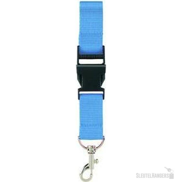 100% RPET Lanyard Walsall lichtblauw