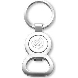 € 1,00 munt Sleutelhanger en opener Washington zilver