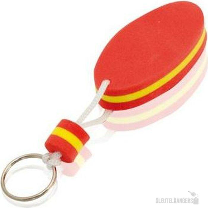 Sleutelhanger Soke rood/geel