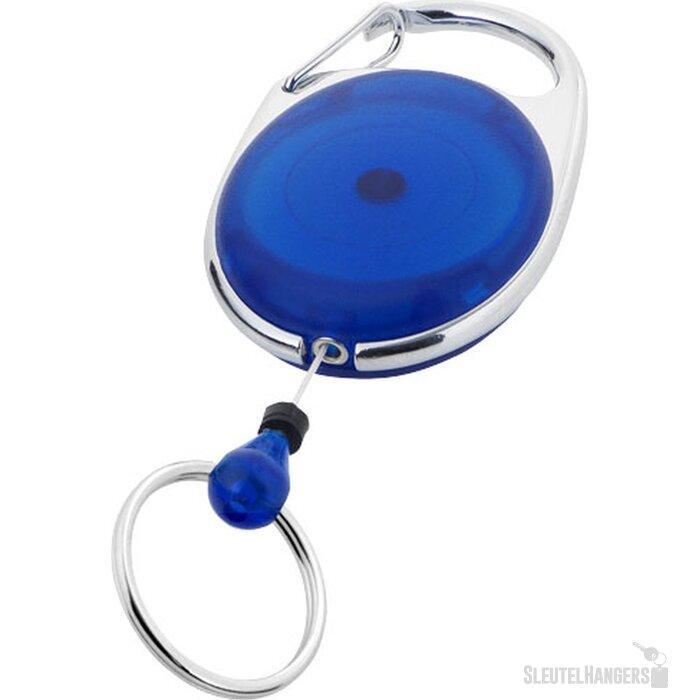 Gerlos sleutelhanger en rollerclip blauw