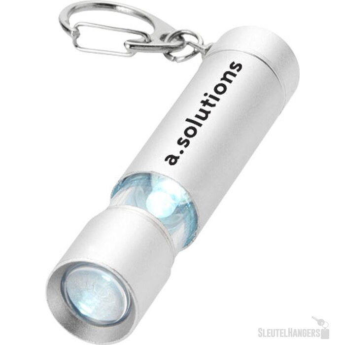 Lepus sleutelhangerlampje Zilver