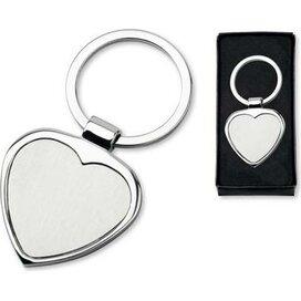 Sleutelhanger Amor zilver
