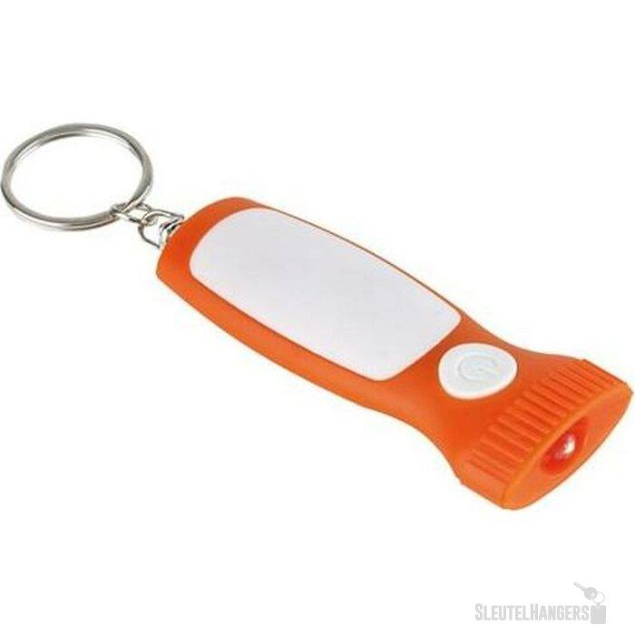 Sleutelhanger Mona Wit/Oranje