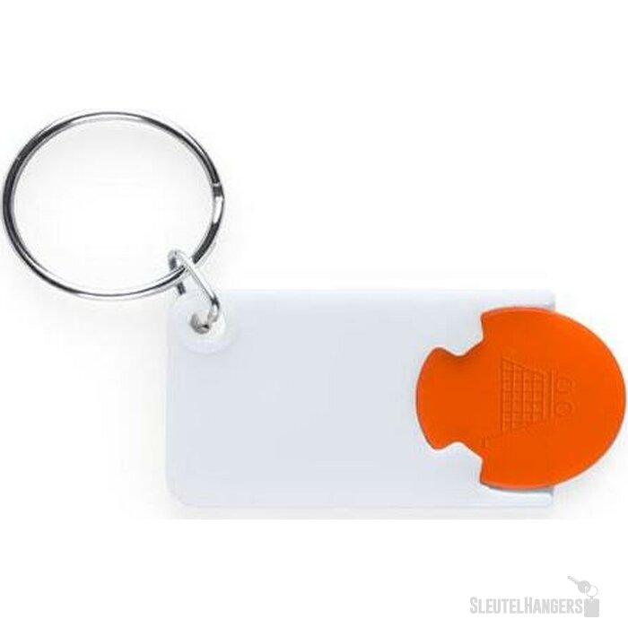 Sleutelhanger Charley oranje