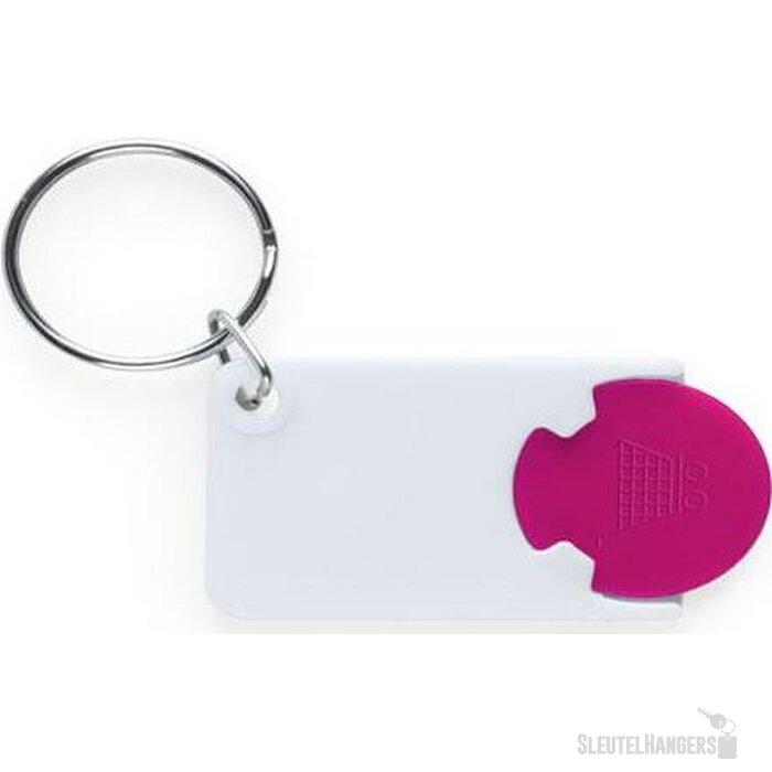 Sleutelhanger Charley roze