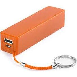 Sleutelhanger Dino oranje