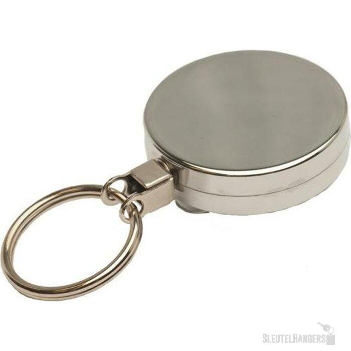Jojo 43 met sleutelring & plastic draad zilver