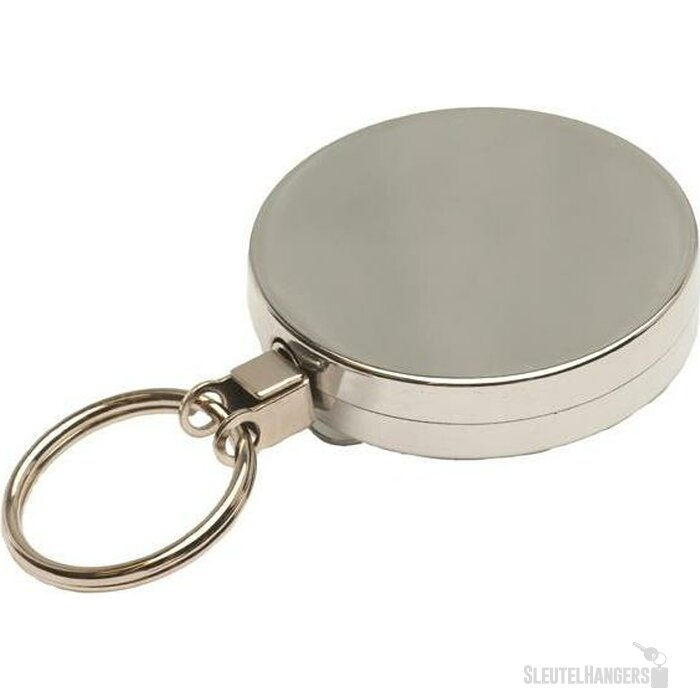 Jojo 50 met sleutelring & metalen draad zilver