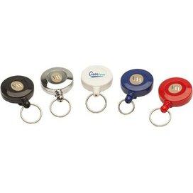 Jojo Mini met sleutelring & nylon draad wit
