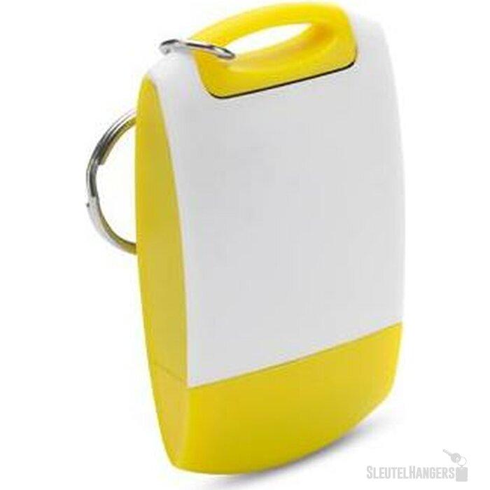 Sleutelhanger Easy geel
