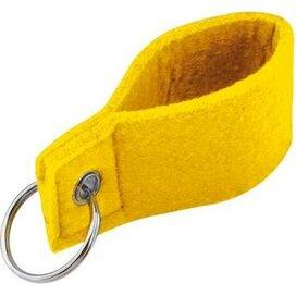Sleutelhanger Jon geel