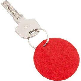 Sleutelhanger Jordy rood