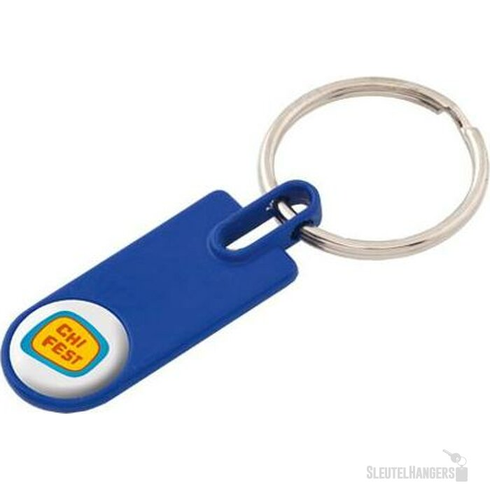 Sleutelhanger Lupo blauw