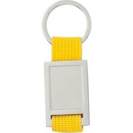 Sleutelhanger Maddock geel