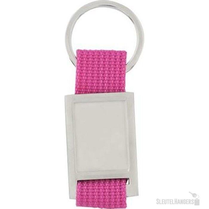 Sleutelhanger Maddock roze