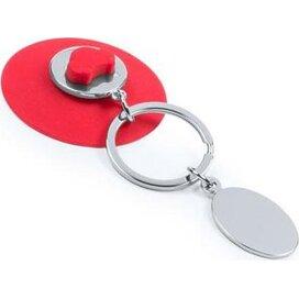 Sleutelhanger Morse rood