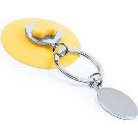 Sleutelhanger Morse geel