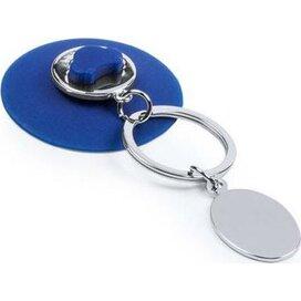 Sleutelhanger Morse blauw