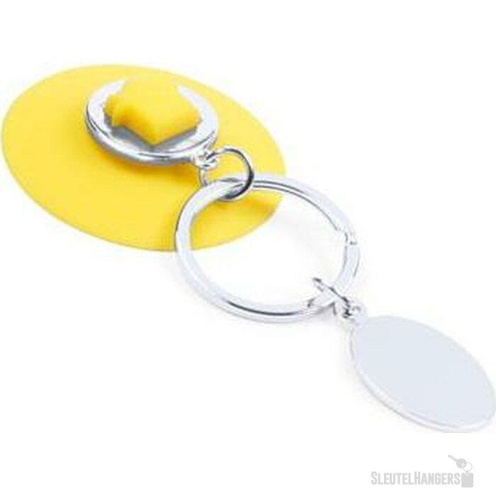 Sleutelhanger Nelson geel