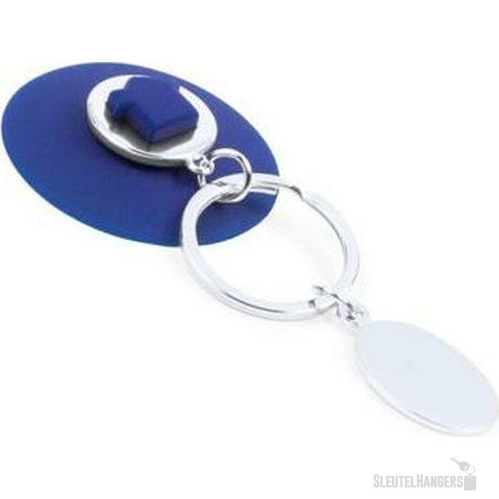 Sleutelhanger Nelson blauw
