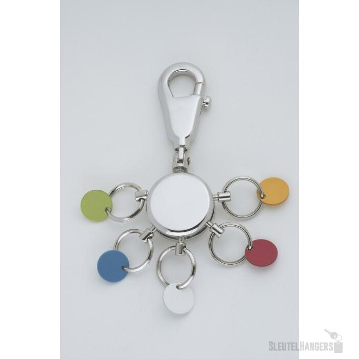 Sleutelhanger Patent/Colour glanzend chrome