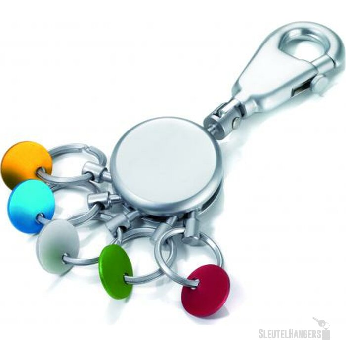 Sleutelhanger Patent/Colour Mat Chrome