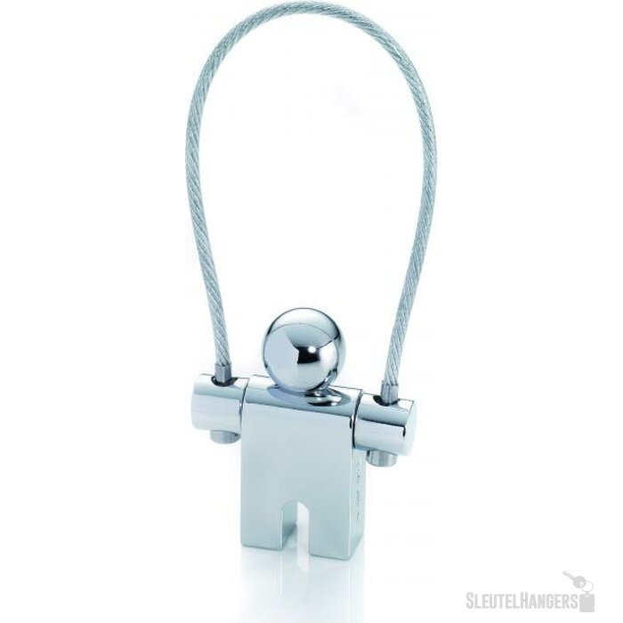 Sleutelhanger Jumper  zilver