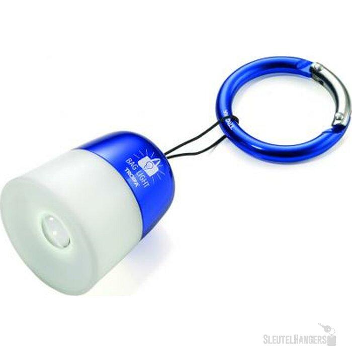 Sleutelhanger Bag Light blauw