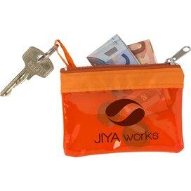 Trans Purse Sleutel-/geldbeurs Oranje