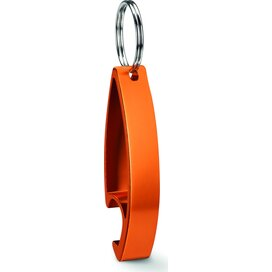 Aluminium sleutelhanger Colour twices oranje