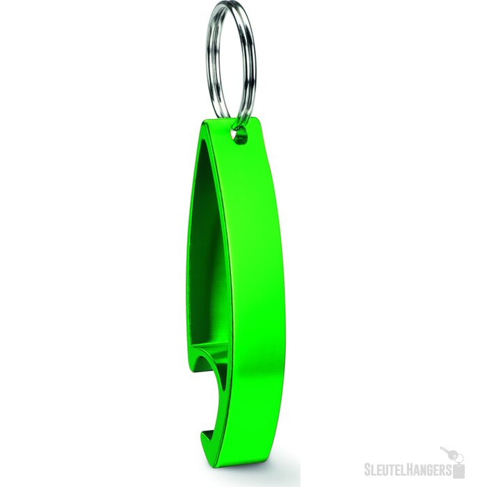 Aluminium sleutelhanger Colour Twices groen