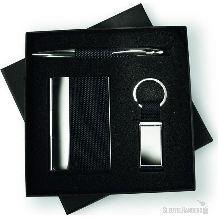 Zakelijke geschenkset Boxness Zwart