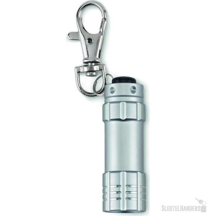 Aluminium zaklampje Minio zilver
