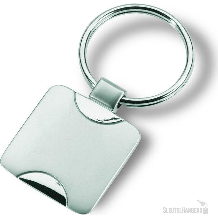 Sleutelhanger Simplis zilver
