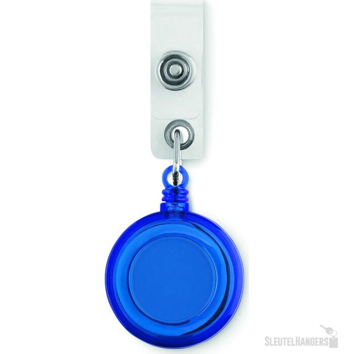 Badgehouder aan koordje Lades Blauw