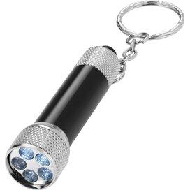 Draco sleutelhangerlampje Zwart,Zilver